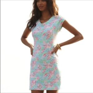 Lilly Pulitzer Lobstrah Roll Westerly Dress